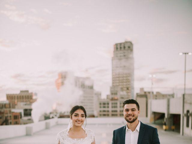 Sarai and Mathew's Wedding in Detroit, Michigan 1