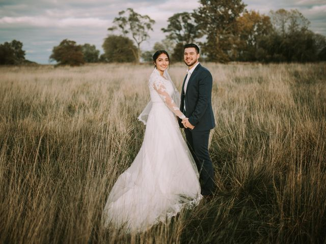The wedding of Mathew and Sarai