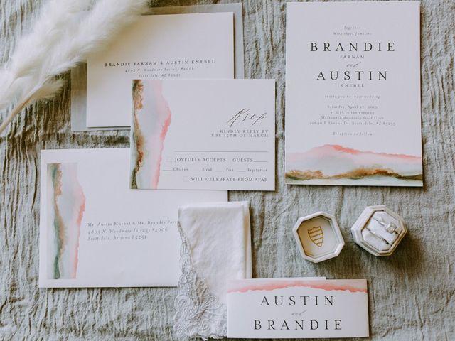 Austin and Brandie's Wedding in Scottsdale, Arizona 1
