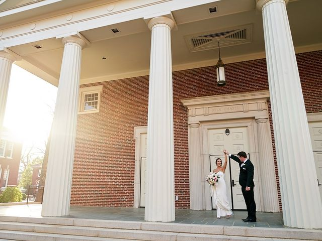 The wedding of Jamie and Trey