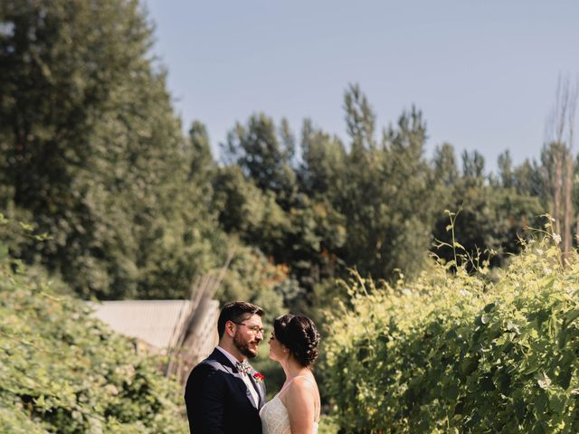 Travis and Kaitlyn's Wedding in Troutdale, Oregon 16