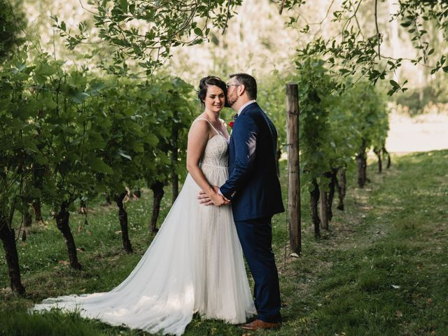 The wedding of Kaitlyn and Travis