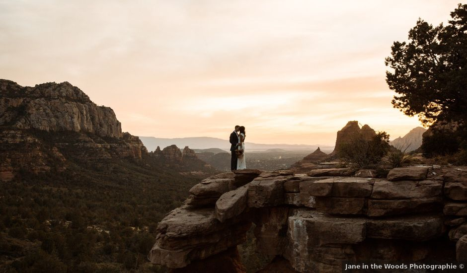 Tyson and Brittany's Wedding in Sedona, Arizona