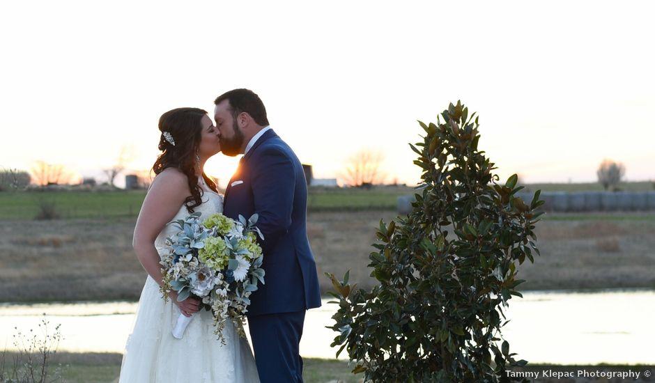 Stephanie and Buddy's Wedding in Krum, Texas