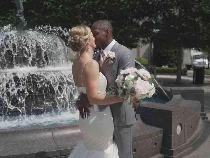 The wedding of Natalie and Roydell
