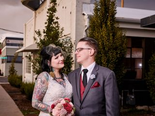 The wedding of Jen and Jake