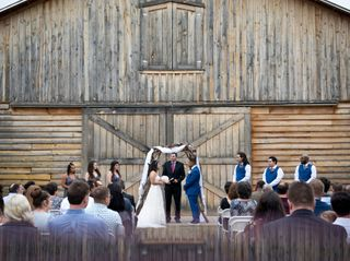 The wedding of Penelope and Christian 1