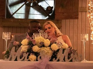 The wedding of Lena and Leroy