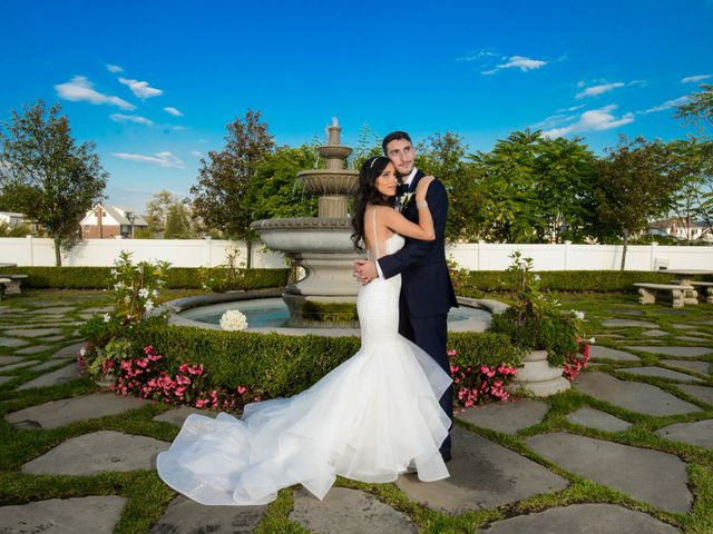 The wedding of Paige and Christopher