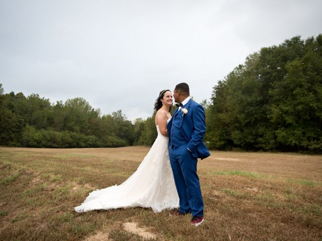 Christian and Penelope's Wedding in Fountain Inn, South Carolina 1