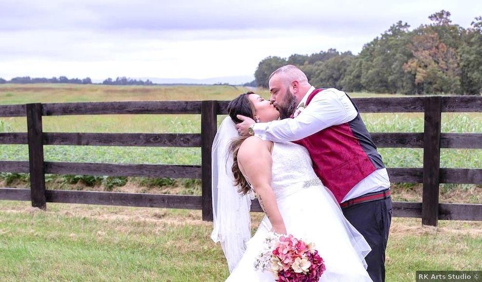 Alex and Kori's Wedding in Scottsville, Virginia