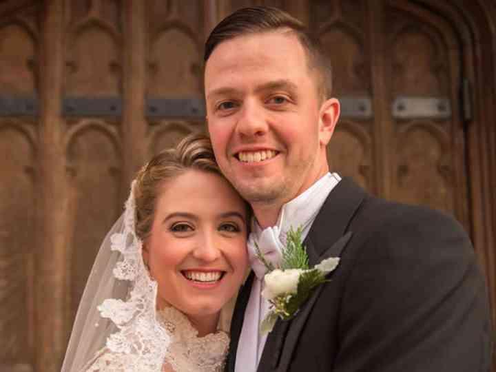 The wedding of Aaron and Kathleen