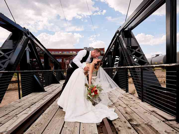 The wedding of Santina and Stephen