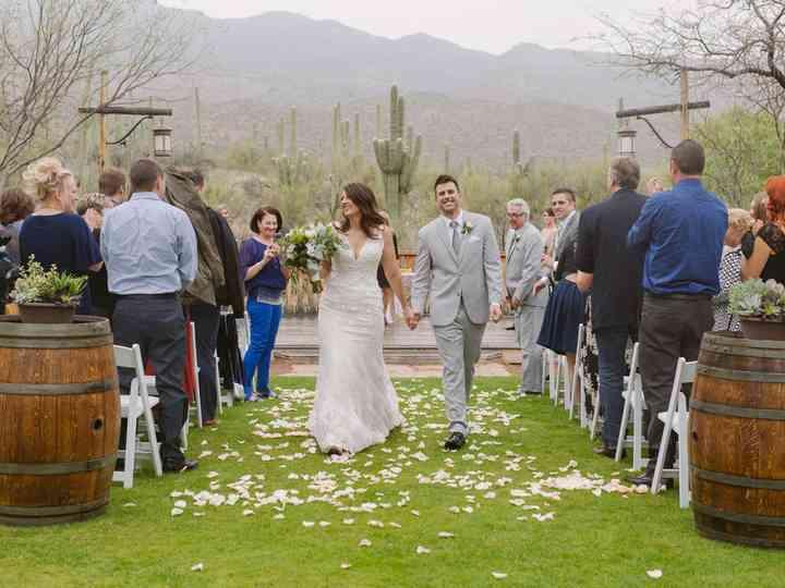 The wedding of Jackie and Nick