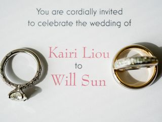 The wedding of Will and Kairi 2