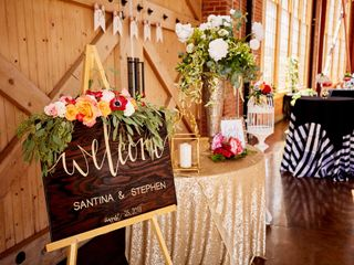 The wedding of Santina and Stephen 1