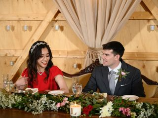 The wedding of Jieting and Lucas