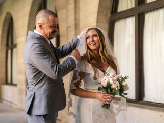 The wedding of Michele and David 1