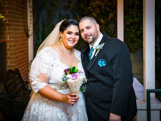 The wedding of Garrett and Monet
