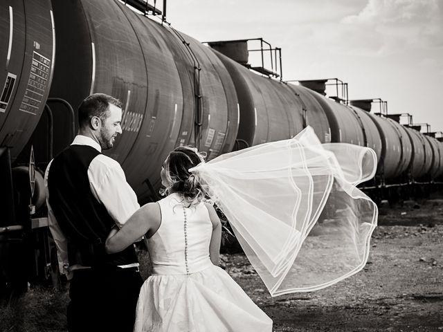 Stephen and Santina's Wedding in Evanston, Wyoming 13