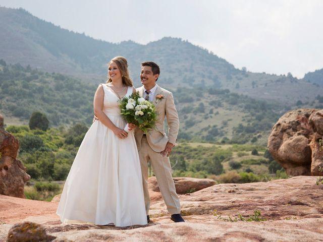 The wedding of Eve and Jonathan