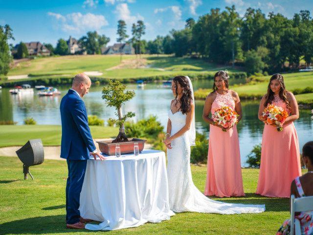 John and Sheema's Wedding in Mooresville, North Carolina 23