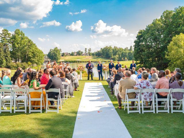 John and Sheema's Wedding in Mooresville, North Carolina 26