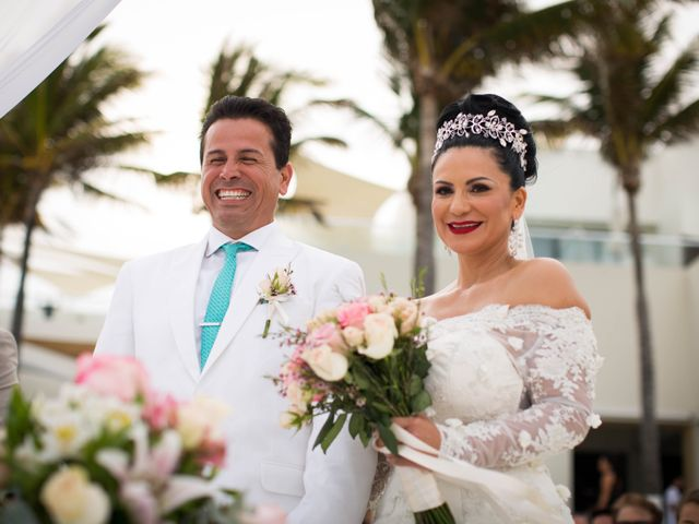 The wedding of Claudia and Joey