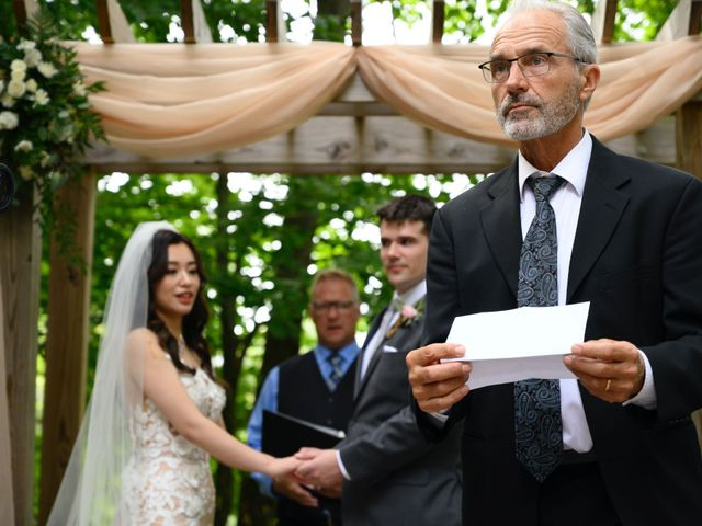 Lucas and Jieting's Wedding in Marcellus, Michigan 39