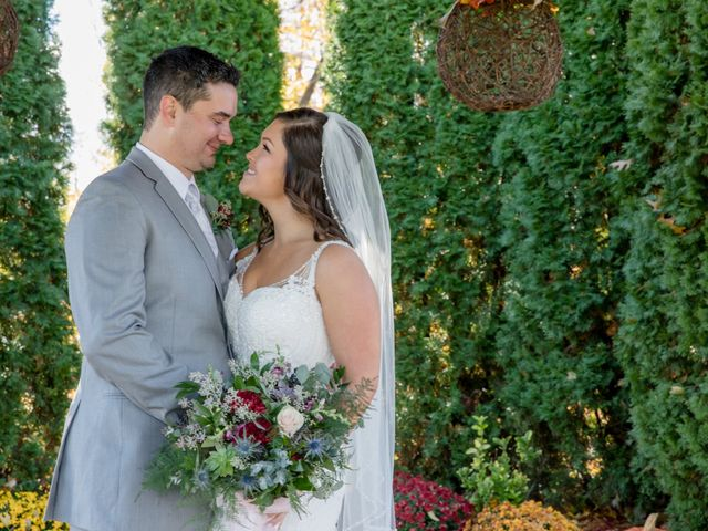 The wedding of Sarah and Matthew