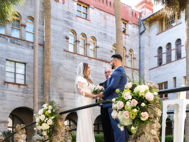 David and Michele's Wedding in Saint Augustine, Florida 5