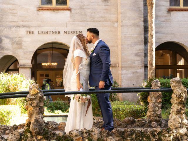 David and Michele's Wedding in Saint Augustine, Florida 6