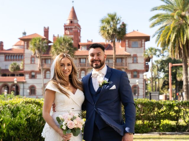 David and Michele's Wedding in Saint Augustine, Florida 18