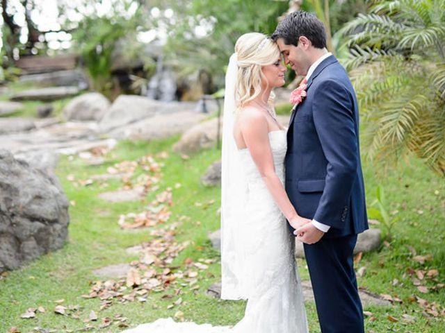 The wedding of Carlos and Carolyn