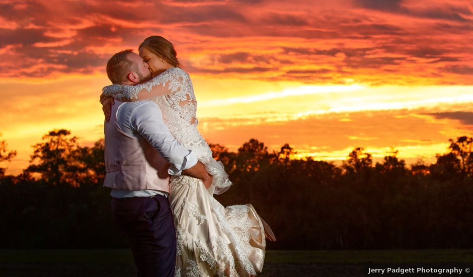 Trevor and Chelsey's Wedding in Lawtey, Florida