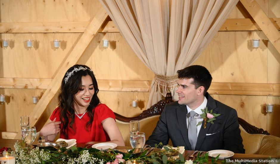 Lucas and Jieting's Wedding in Marcellus, Michigan