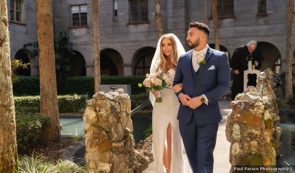 David and Michele's Wedding in Saint Augustine, Florida