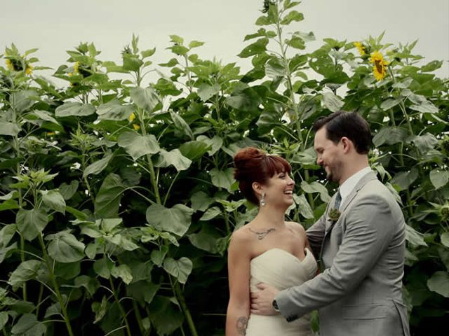 The wedding of Karl and Stephanie