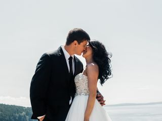 The wedding of Kourtney and Chris