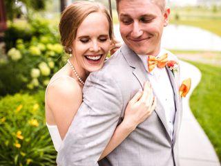 The wedding of Haley and John
