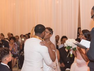 The wedding of Cecilie and Dre' 1