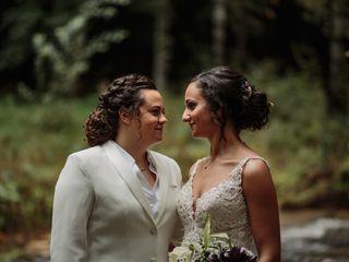 The wedding of Sabrina and Trista