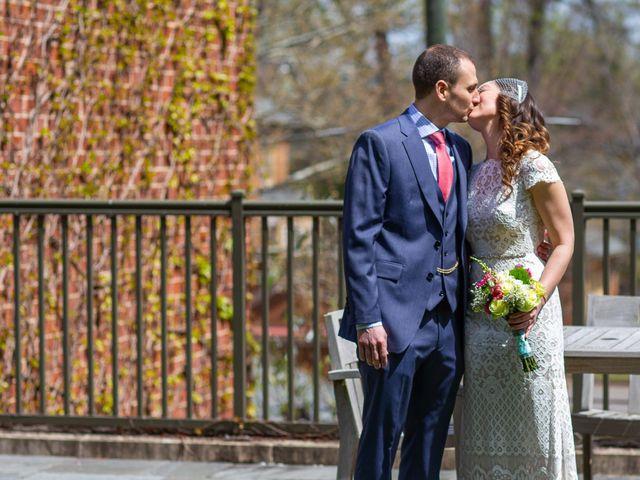 Chris and Danielle's Wedding in Falls Church, Virginia 9