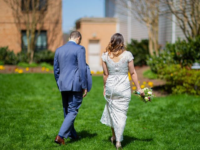 Chris and Danielle's Wedding in Falls Church, Virginia 10