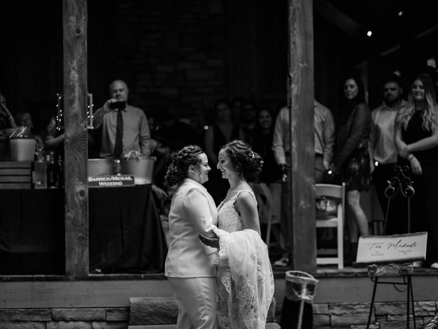 Trista and Sabrina's Wedding in Lake Lure, North Carolina 63