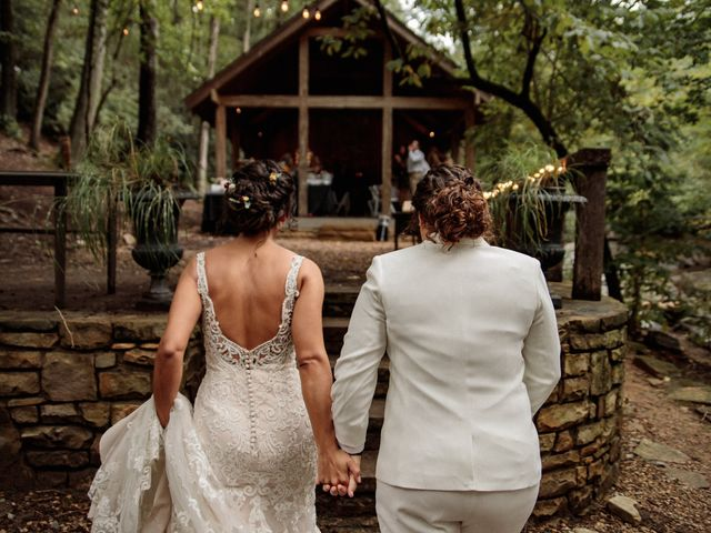 Trista and Sabrina's Wedding in Lake Lure, North Carolina 61