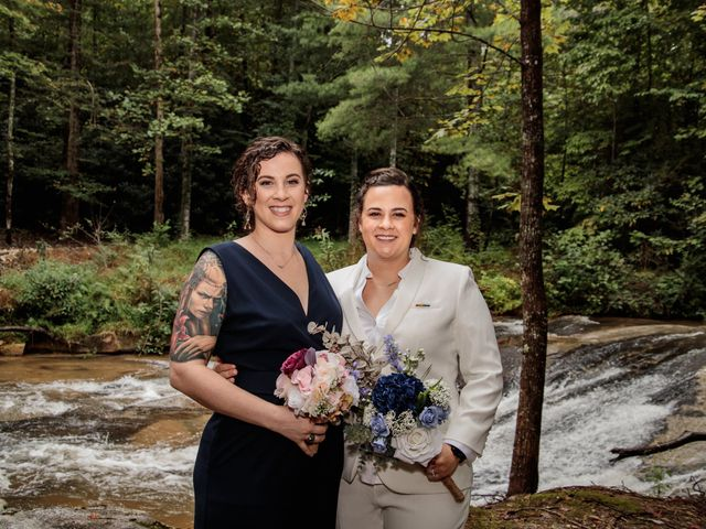 Trista and Sabrina's Wedding in Lake Lure, North Carolina 52