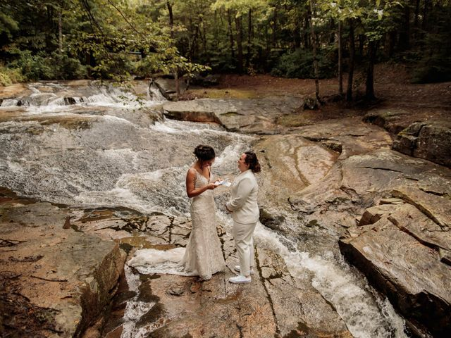 Trista and Sabrina's Wedding in Lake Lure, North Carolina 20
