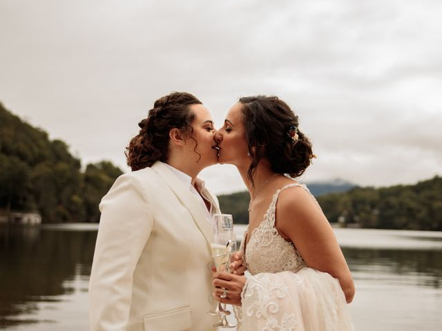 Trista and Sabrina's Wedding in Lake Lure, North Carolina 18