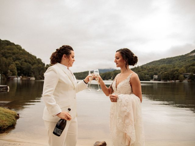 Trista and Sabrina's Wedding in Lake Lure, North Carolina 17